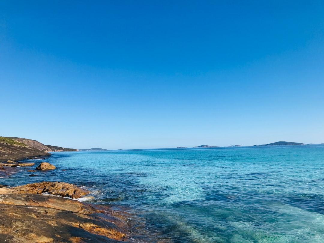 Crystal clear water in Esperance, Australia