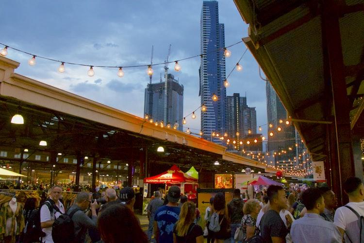 Queen Victoria Summer Night Market