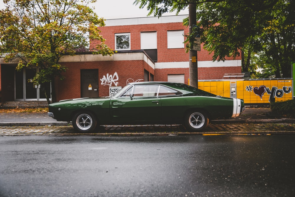 green coupe
