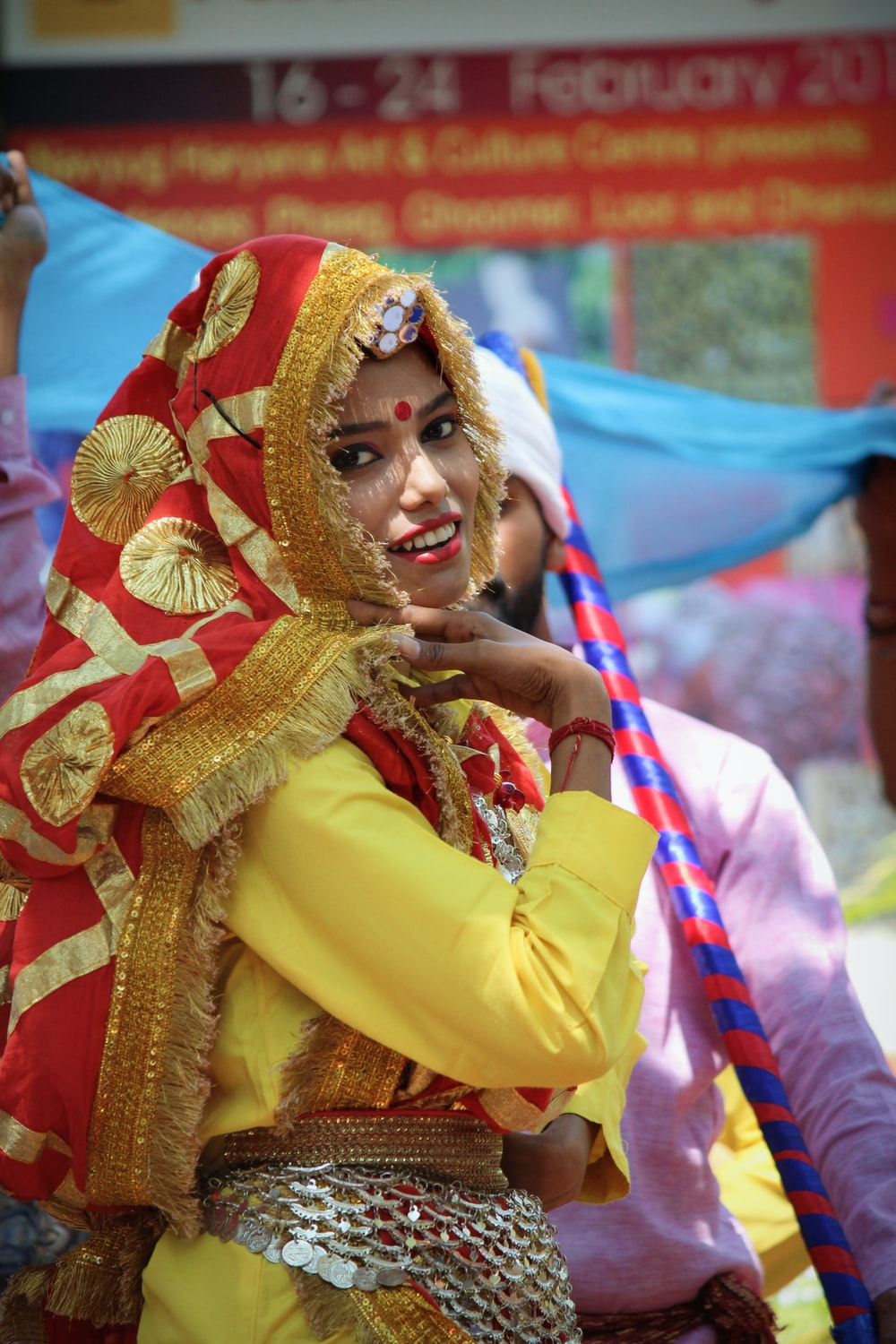 close-up photography of woman dancing