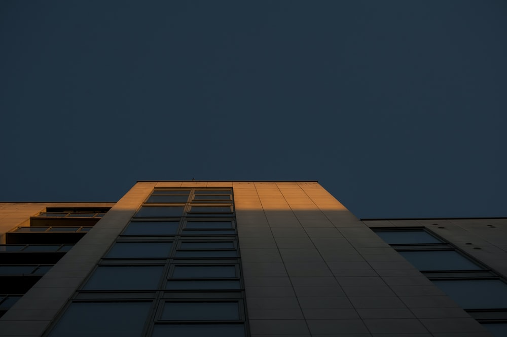 high rise building during golden hour