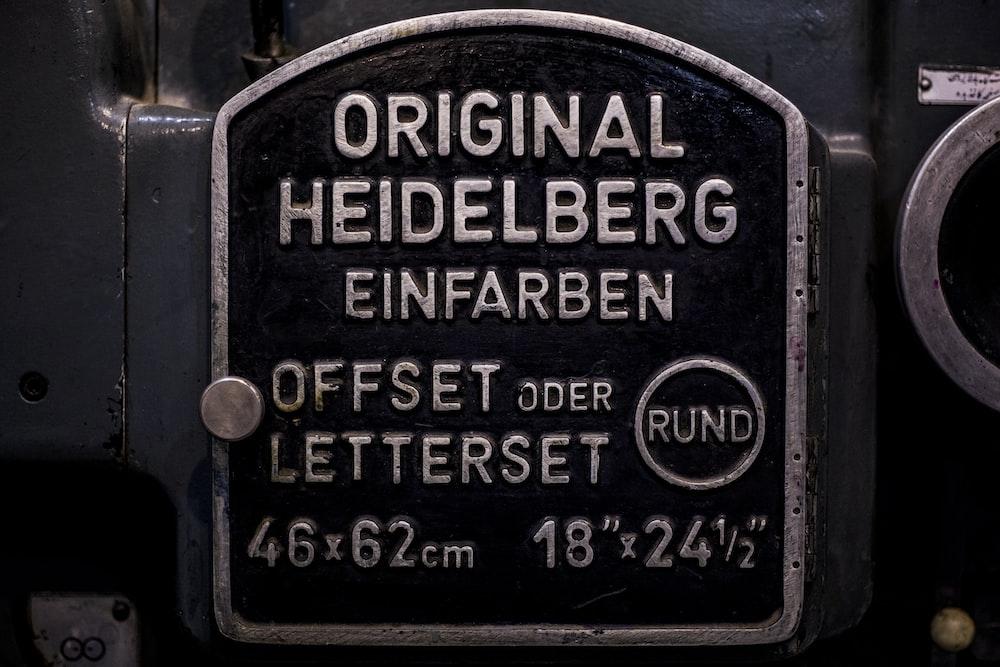 original heidelberg case