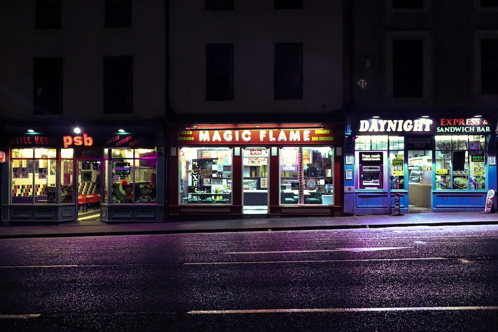 Magic Flame storefront
