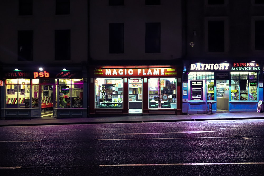 Magic Flame storefront