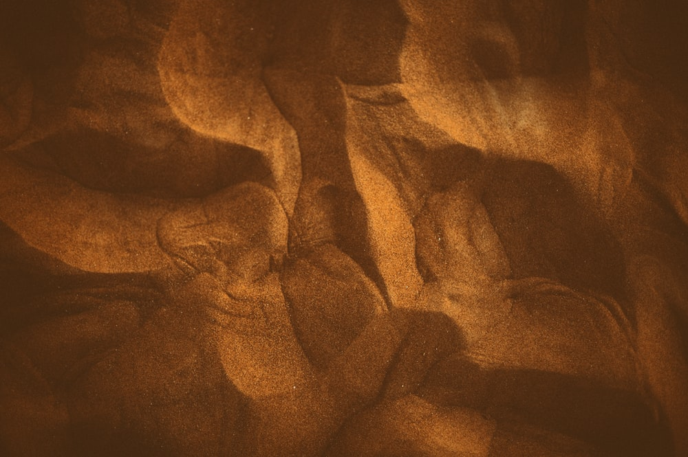 brown sand abstract artwork