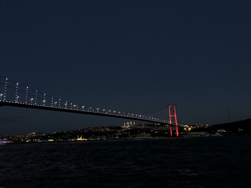Golden Gate Bridge, San Francisco during night