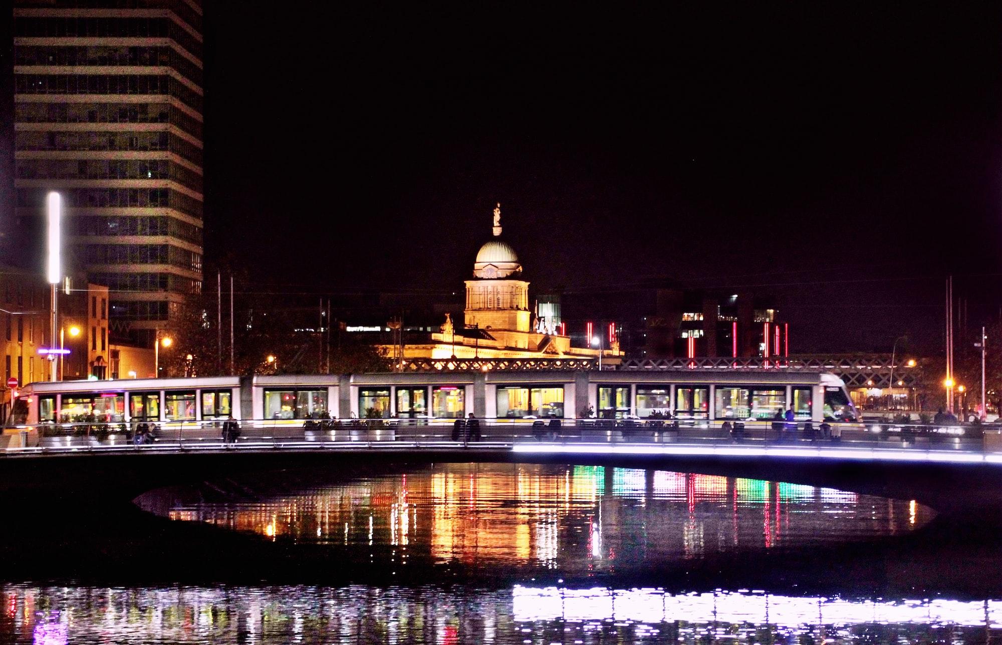 my beloved  River Liffey, Dublin, October 2017