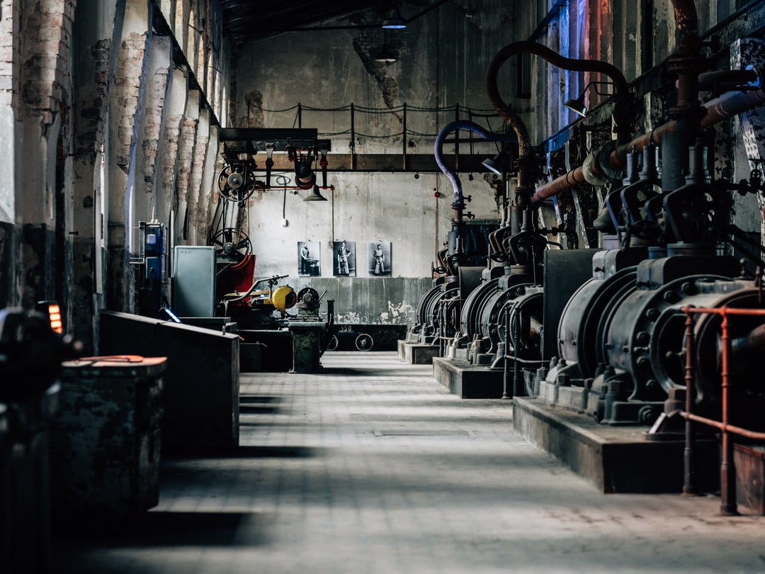 The zinc rolling mill