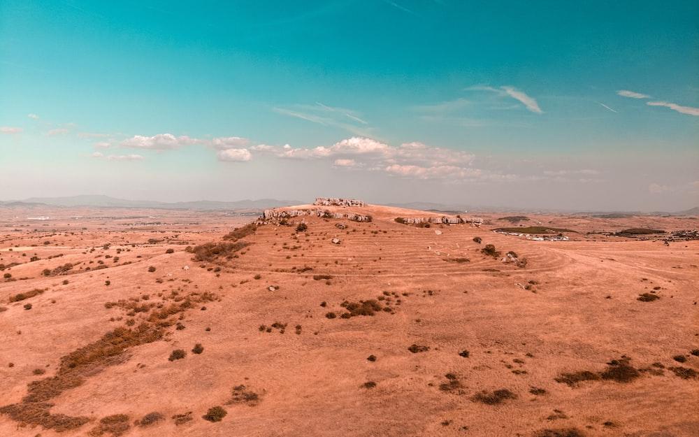 landscape photography of desert during daytime