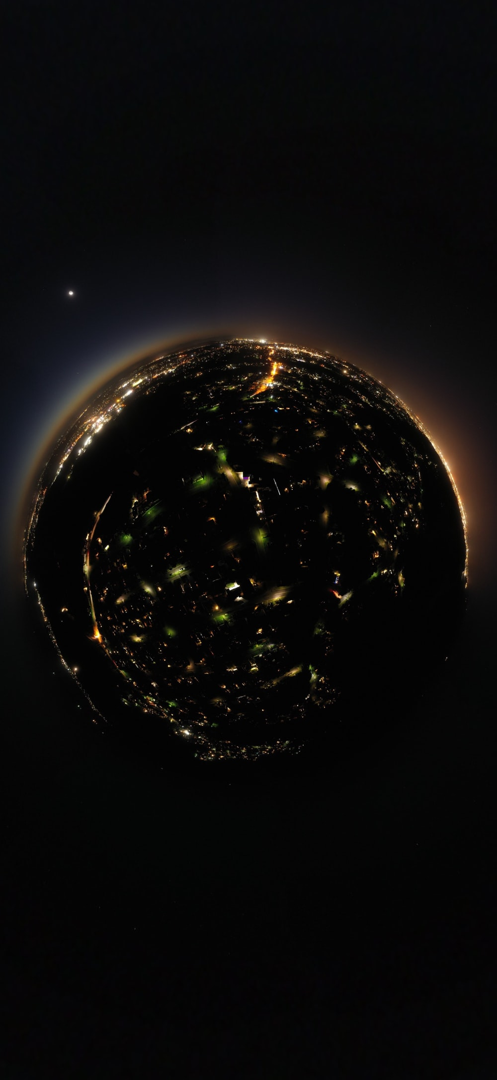 globe lights illustration