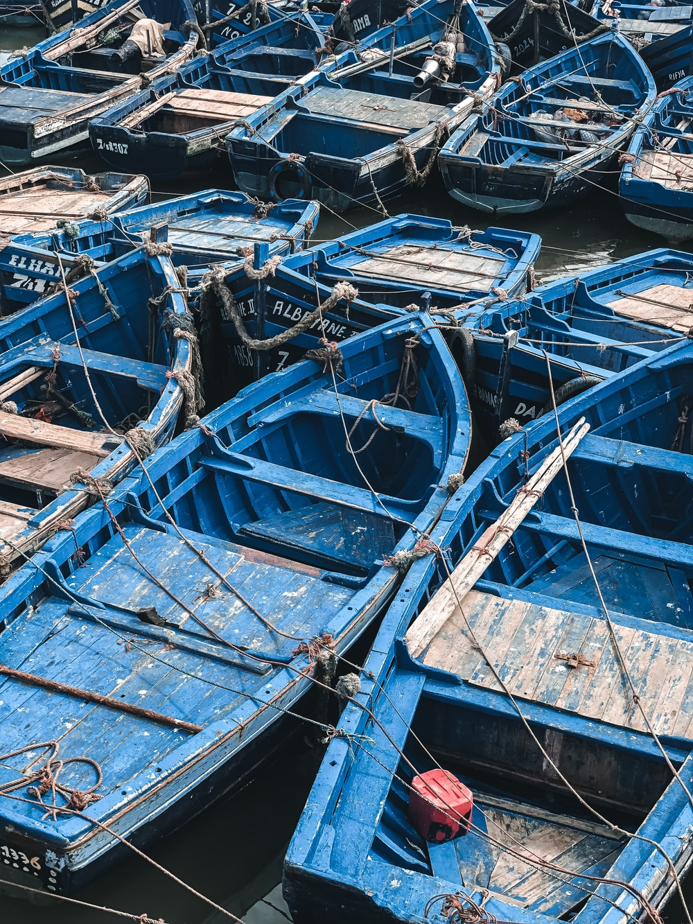 blue boat lot