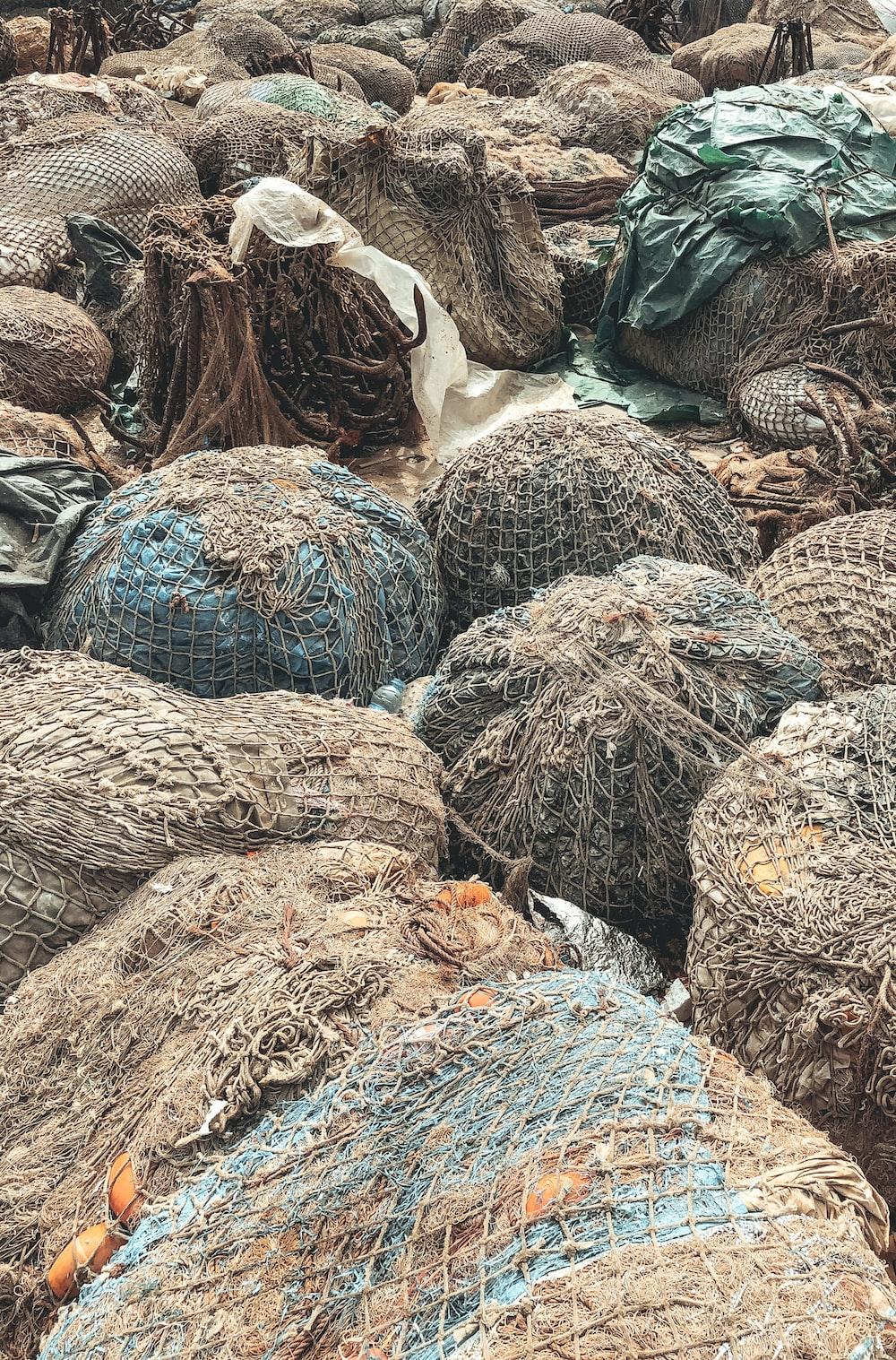 brown rocks