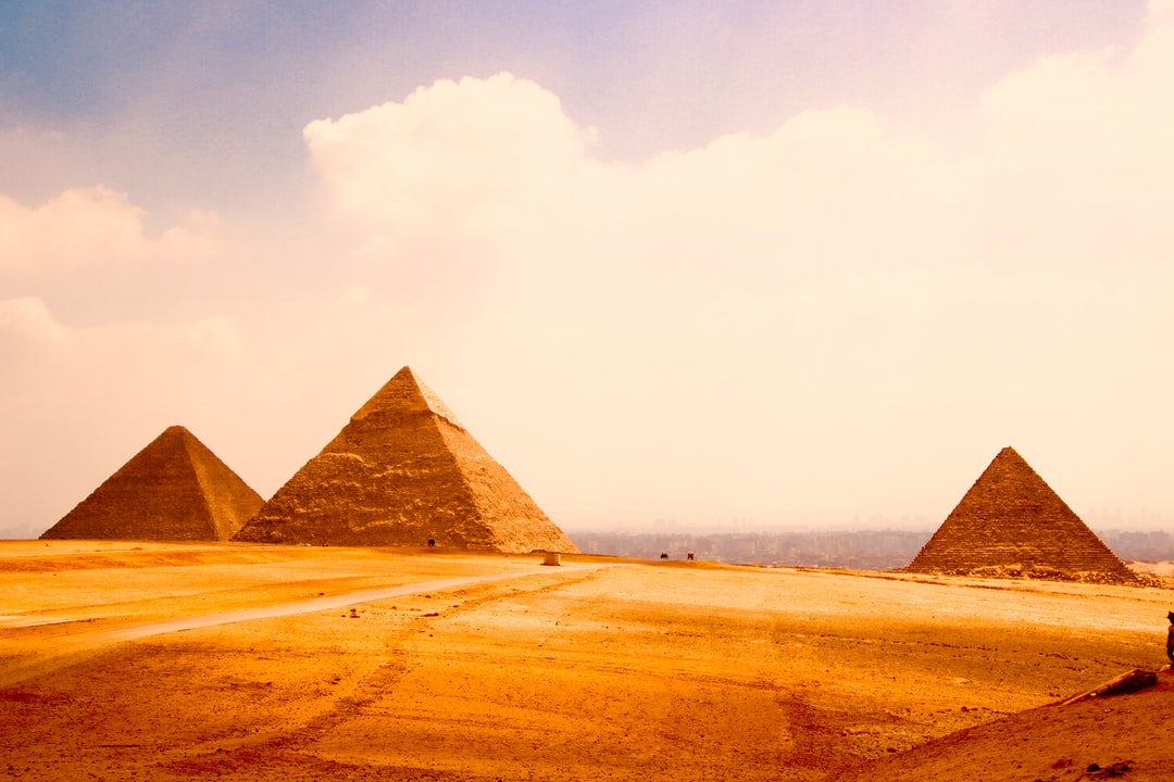 Pyramides of Gizeh