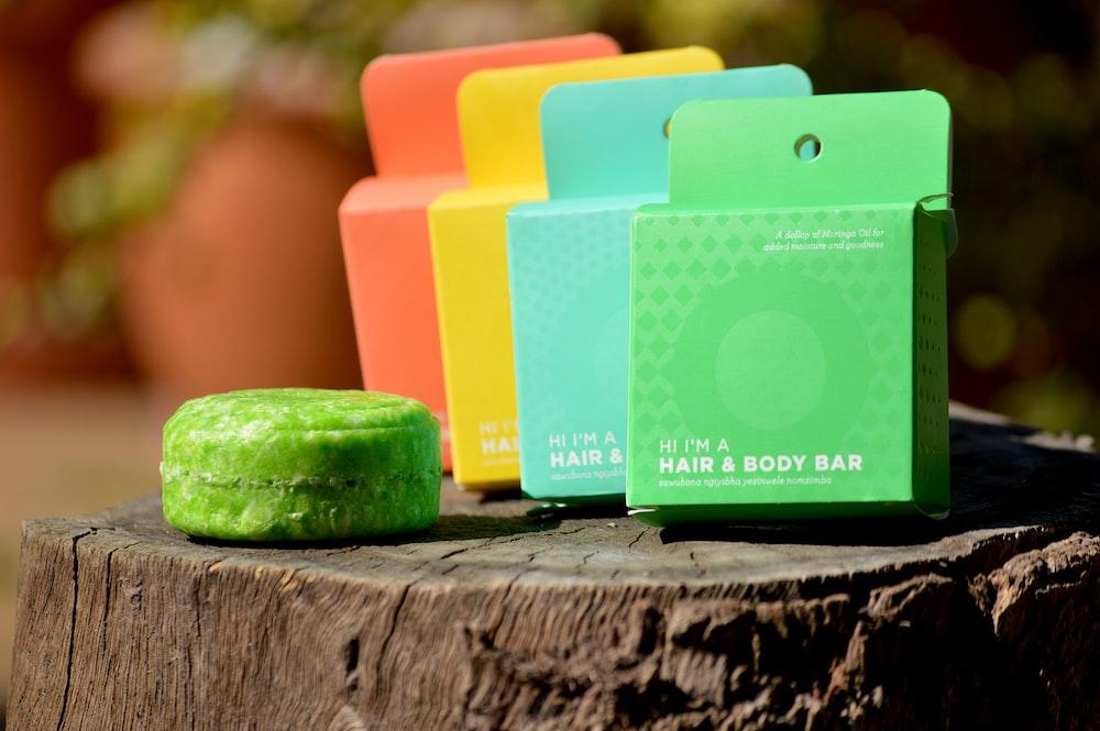 hair body bar boxes