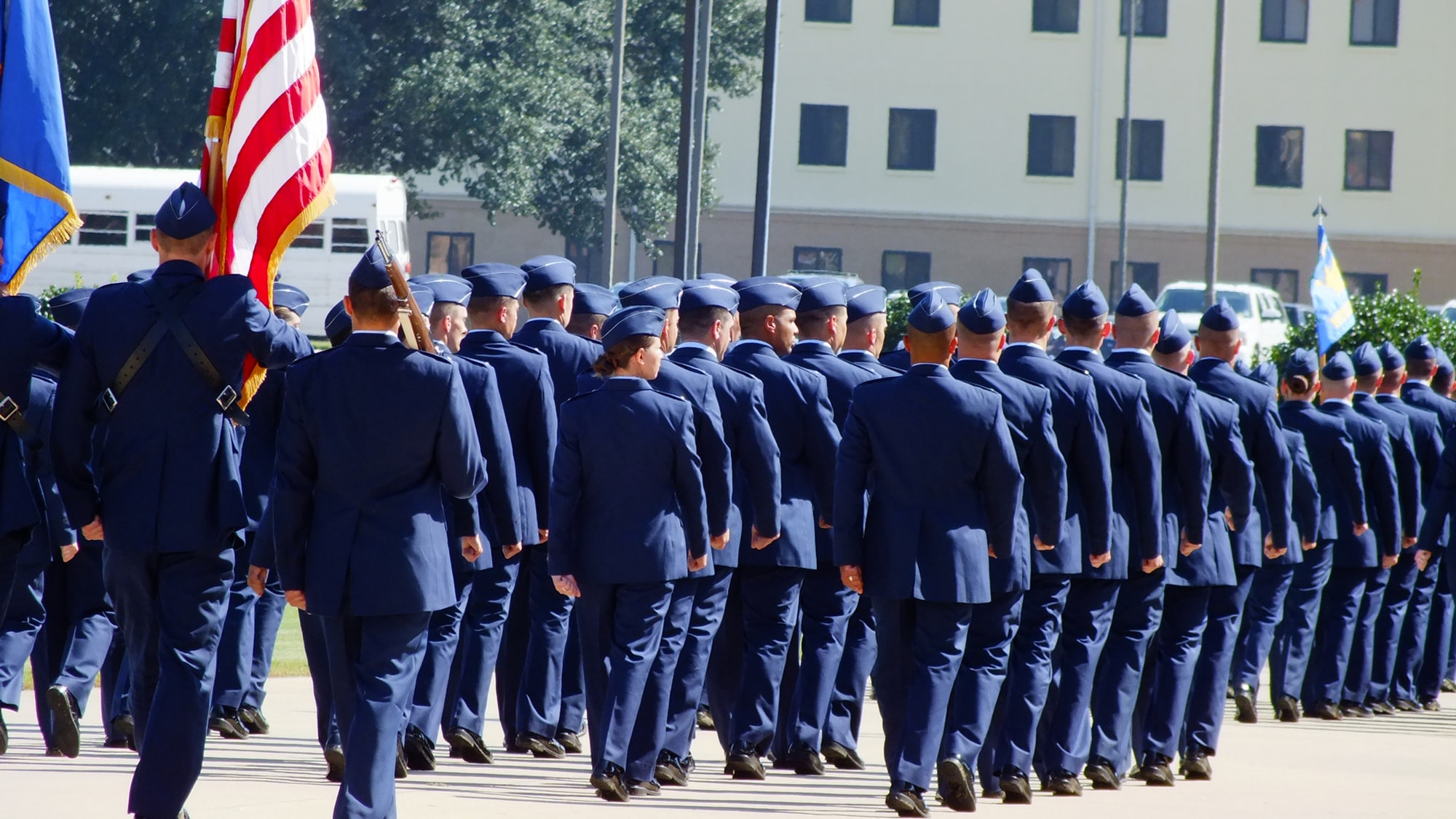 Officer Candidate School Graduation, Maxwell Air Force Base, Montgomery, Alabama, October, 2012