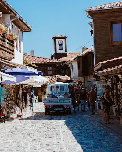 Shopping scenes in Bulgaria