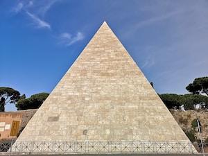 beige pyramid during daytime photo