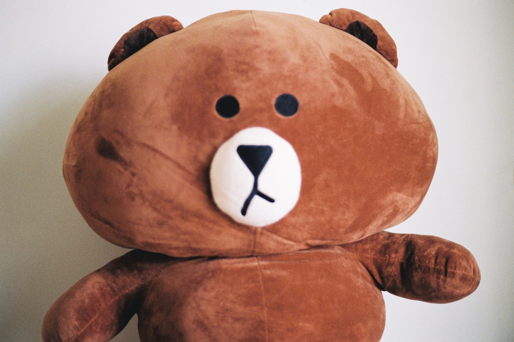 brown plush toy