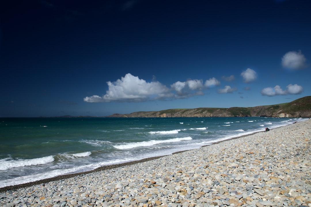 Newgale Beach, South Wales.