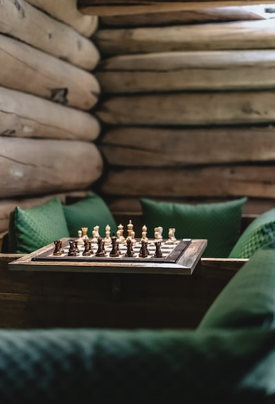 black and brown chessboard