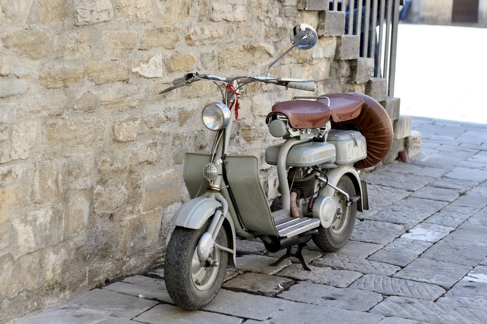 brown minibike