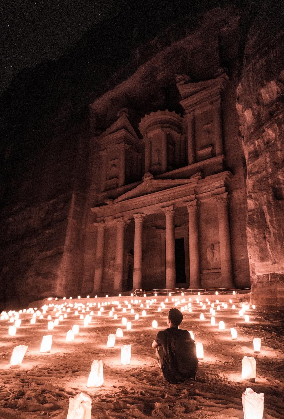 Jordan at Night