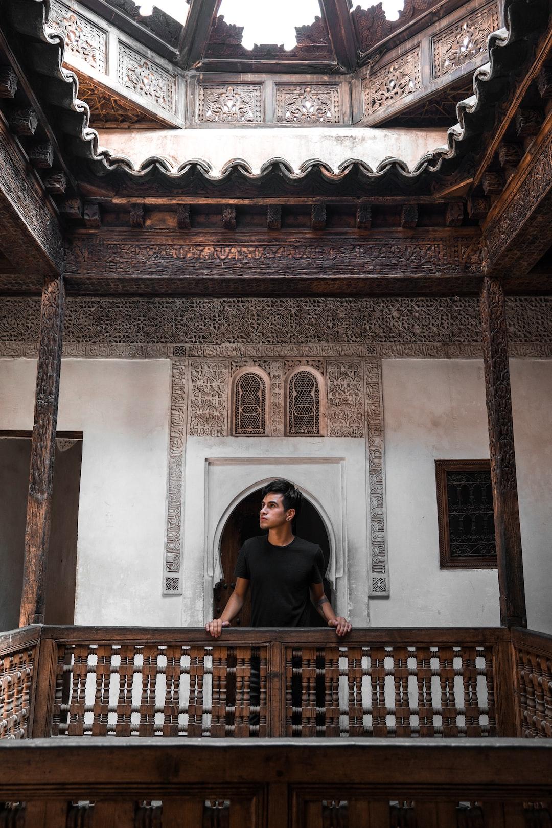 Ben Youssef Mosque in Marrakesh