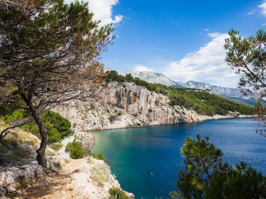 beautiful natural beach in Croatia