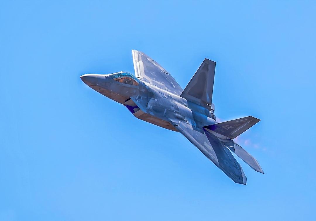 Lockheed Martin F-22A Raptor in flight
