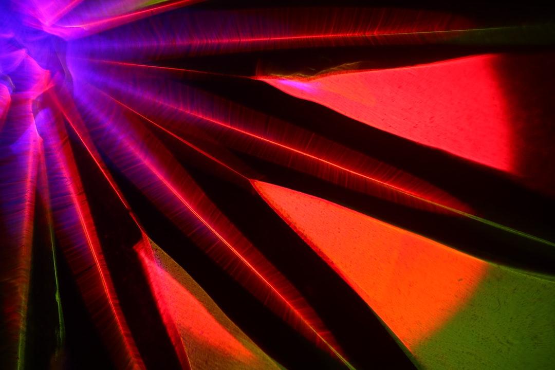 KAPOW! Light transformed through experimental optical techniques.