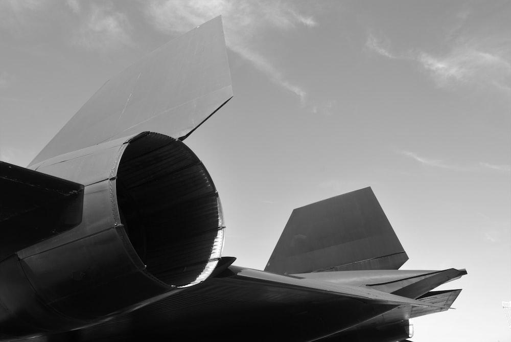 fighter jet rear wing