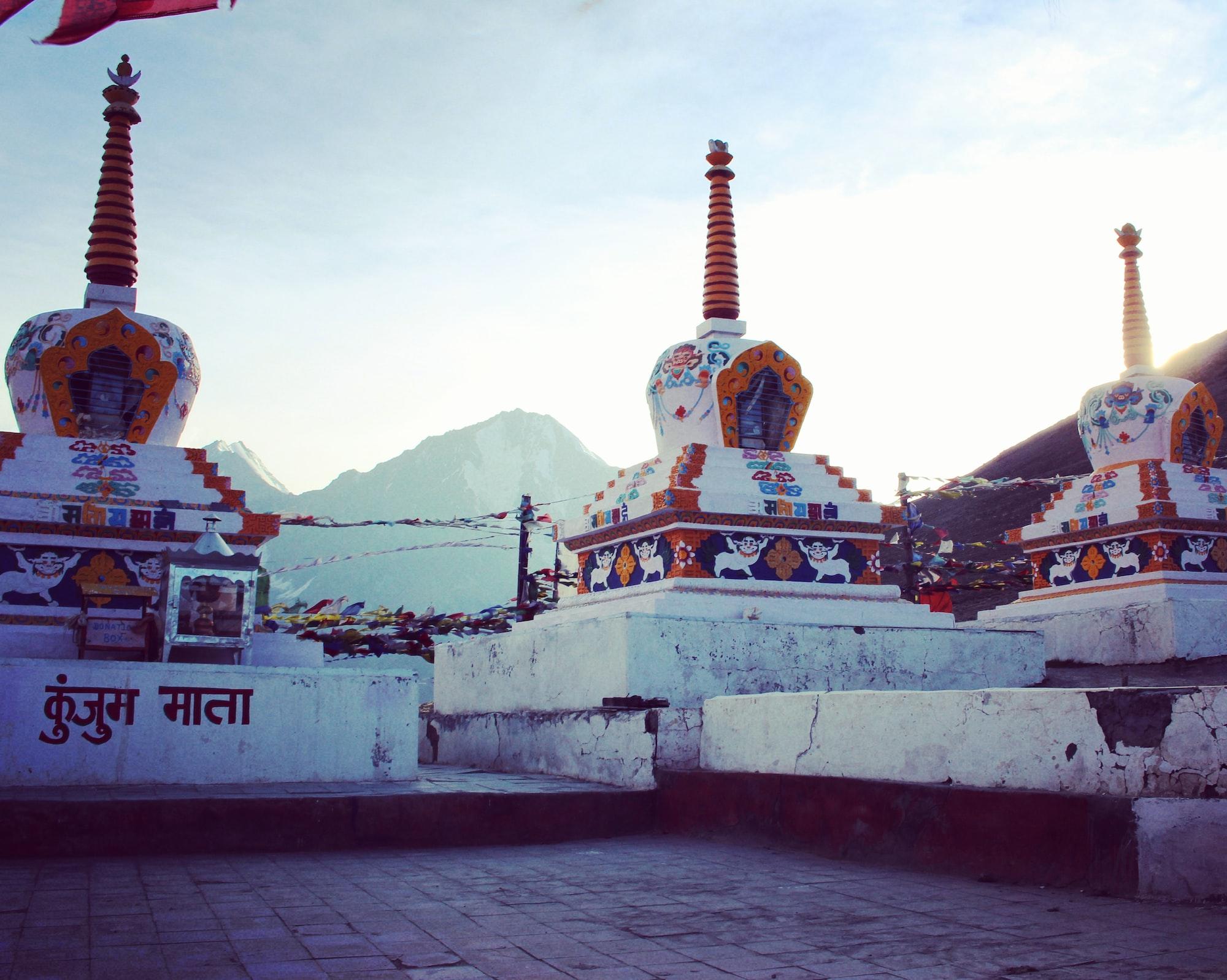 Temple in Ladakh, India 🇮🇳