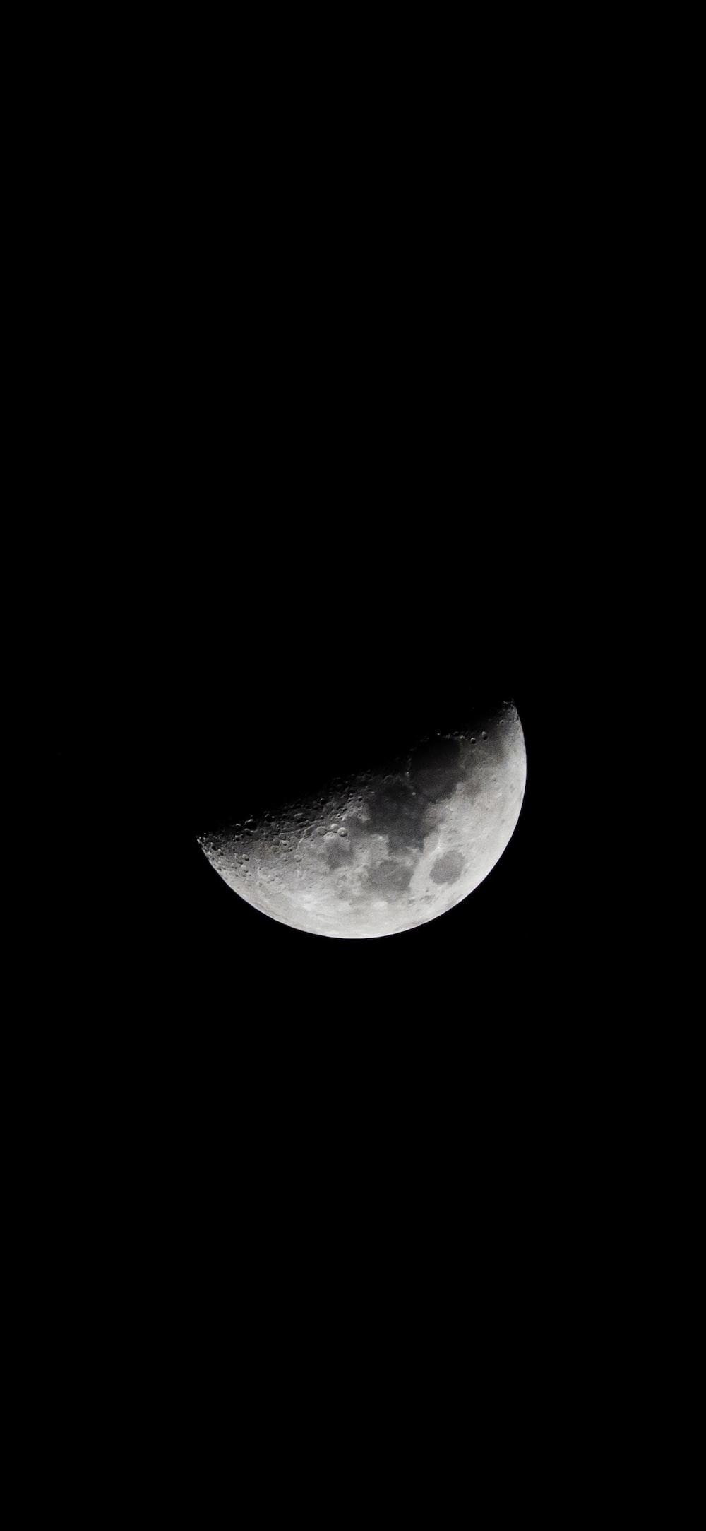 gray moon planet