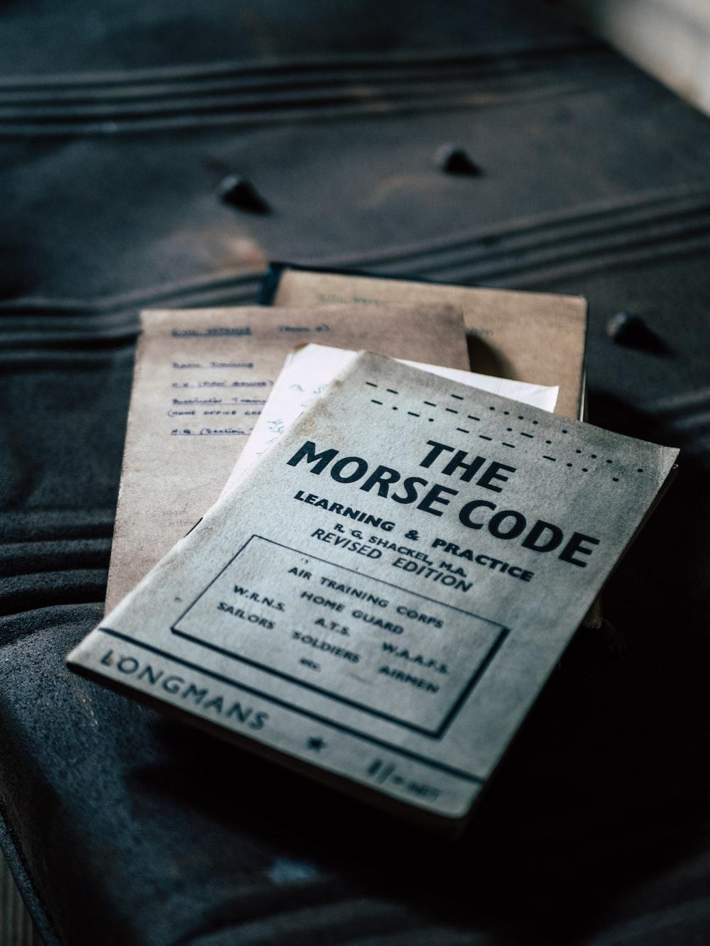 The Morse Code book