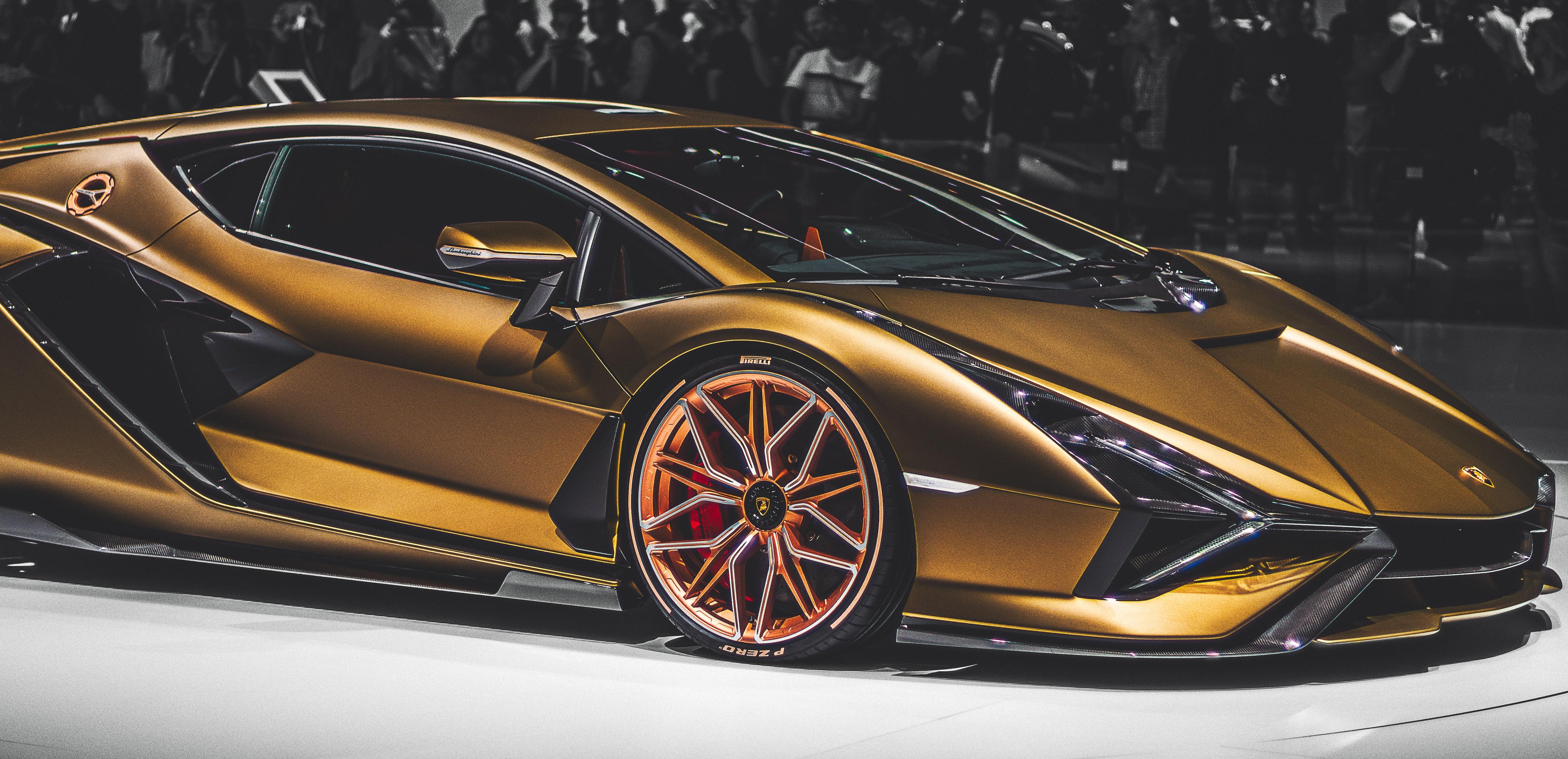 Gold Luxury Car Photo Free Automobile Image On Unsplash