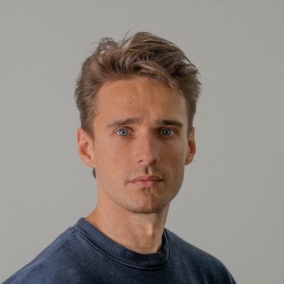 Norwegian Man with a soft blur — useful for avatar, placeholder, user icon