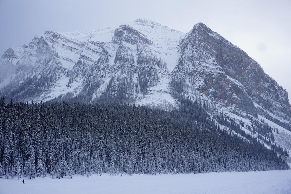 snow cover mountain