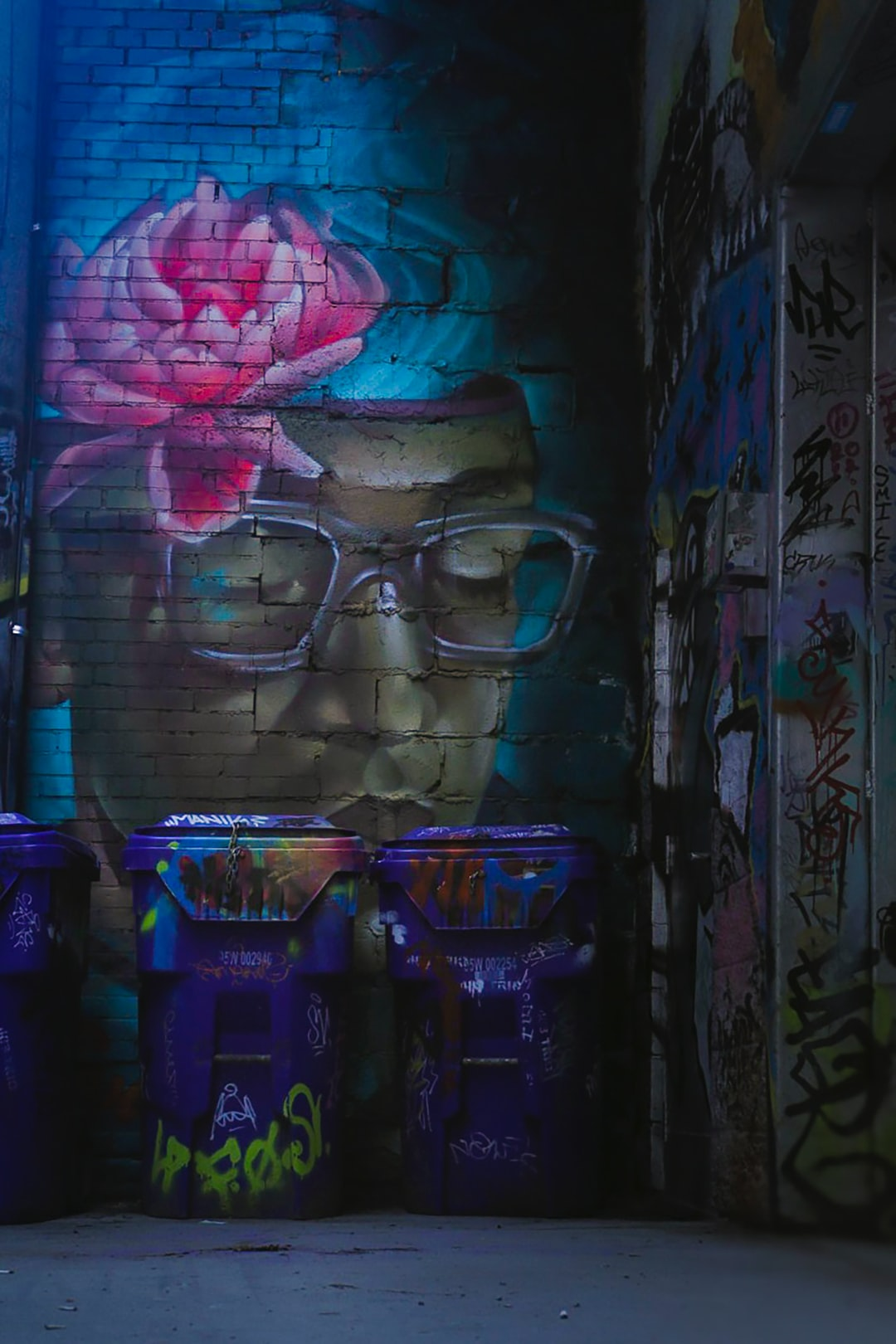 """""""One man's trash is another's treasure"""" perfect caption for this shot taken in Toronto's Graffiti Alley"""
