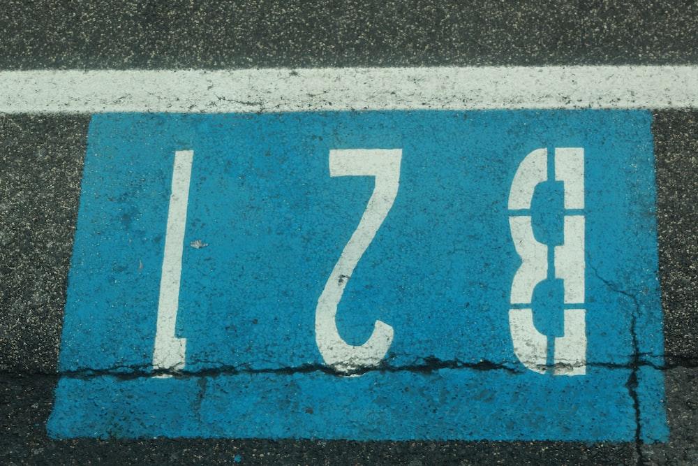 B21 signage