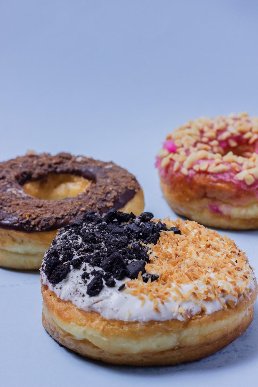 chocolate donuts