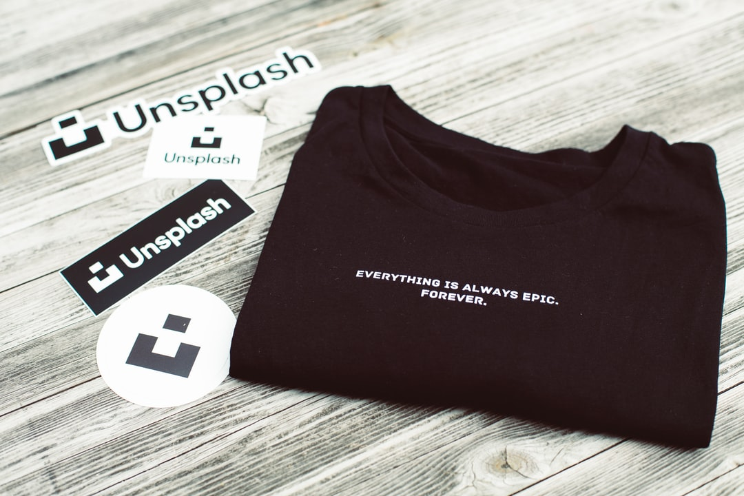 Everything is always epic. Forever. Black t-shirt with Unslash sticker. Made with Canon 5d Mark III and loved analog lens, Leica Summilux-R 1.4 50mm (Year: 1983)