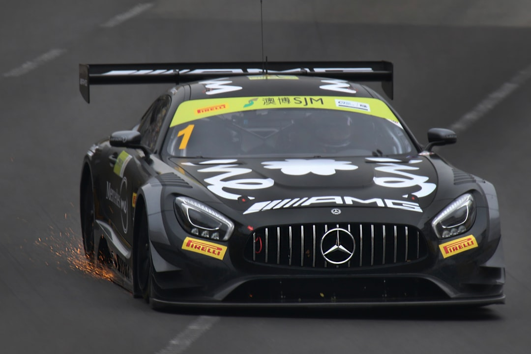 Edoardo Mortara, AMG-Mercedes GT3 during FIA World GT Cup 2018 in Macau.