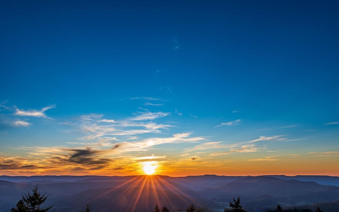 Sunset at Snowshoe