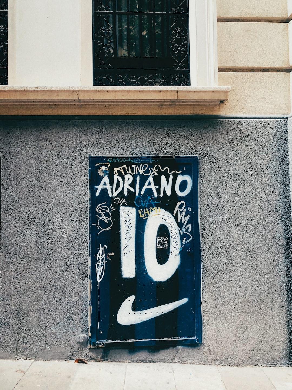 Adriano 10. Milano X Barcelona.