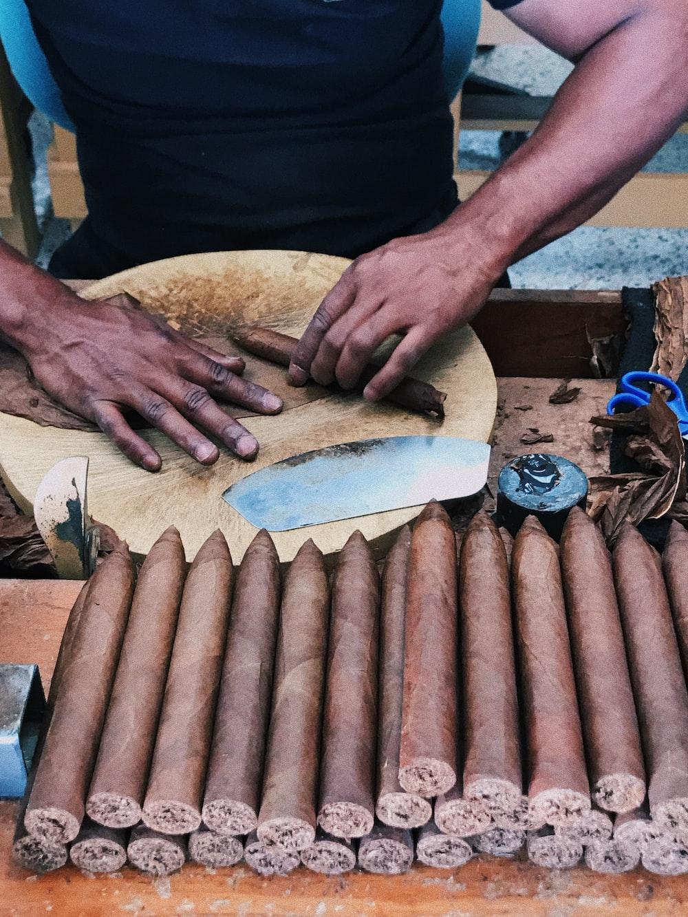 pile of cigar