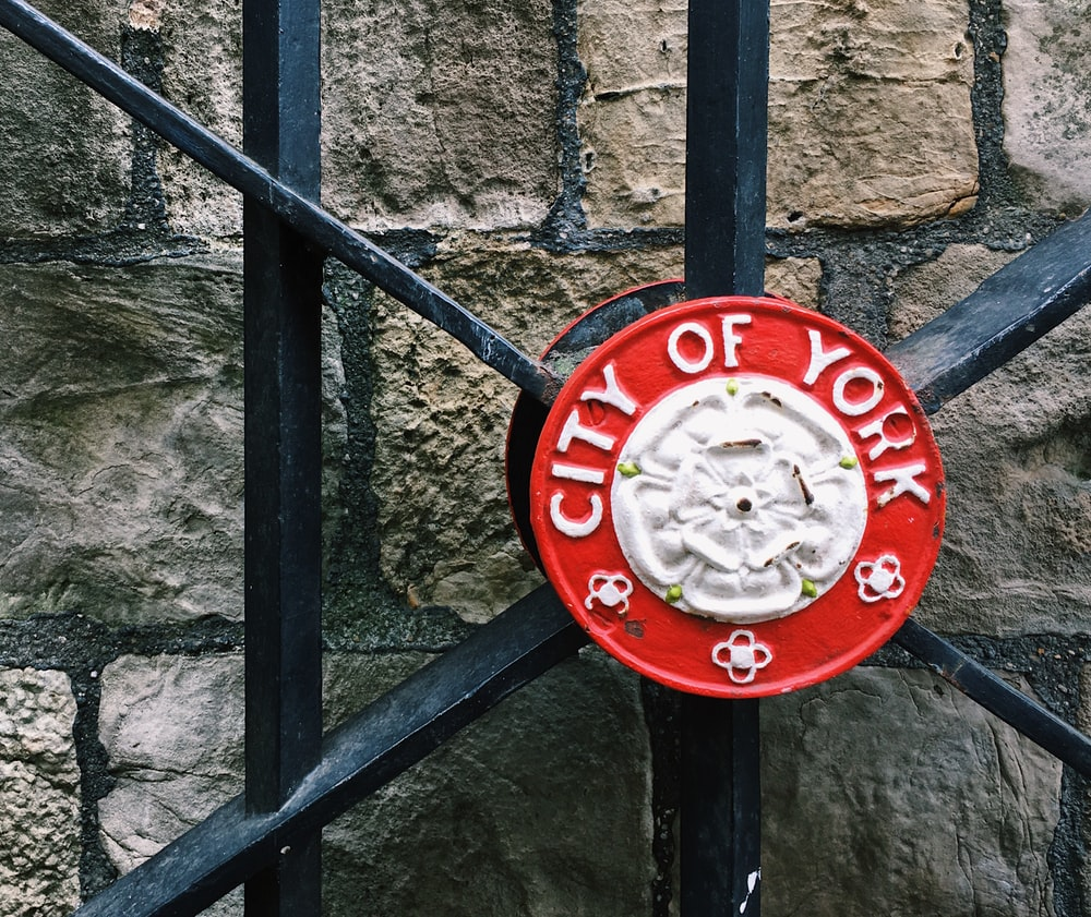 City of York gate decor