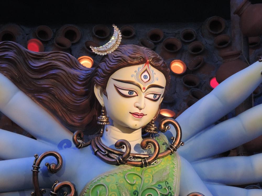 Indian deity statue