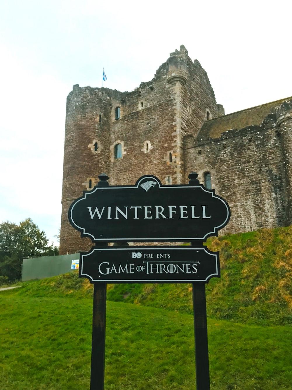Winterfell signage