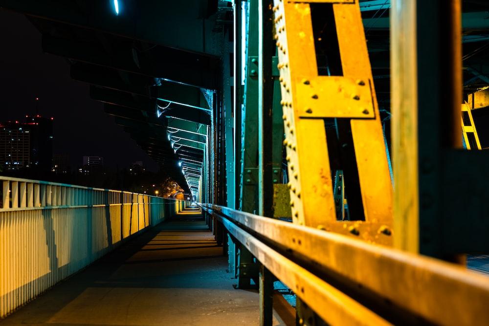 yellow bridge brace