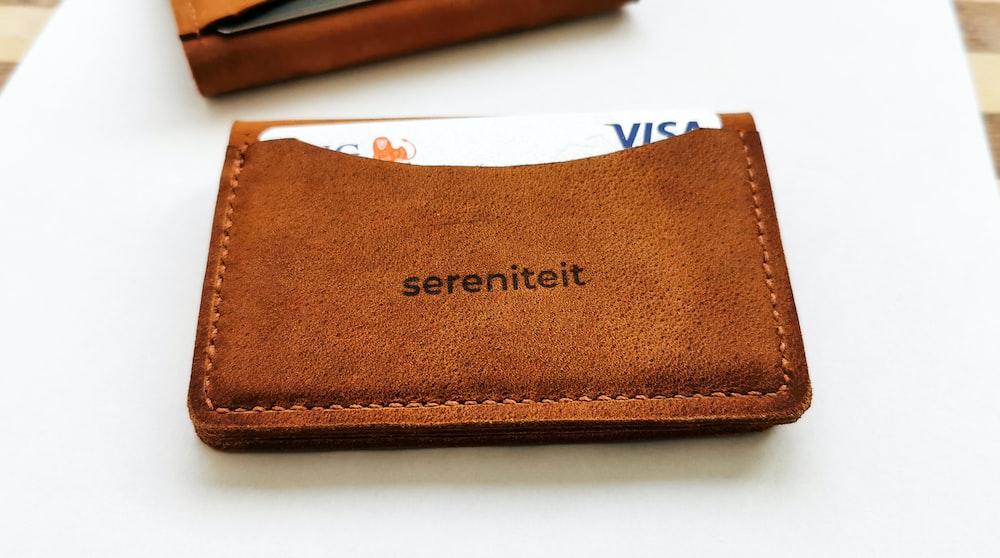 brown Sereniteit wallet